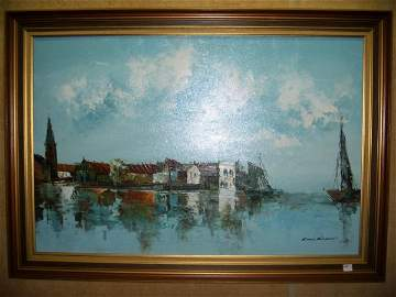 315: Oil on Canvas