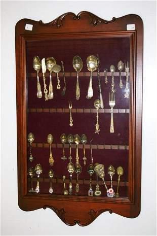 Mahogany Spoon Display