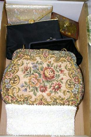 Tray of Evening Bags