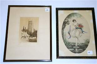 Two Framed Pieces