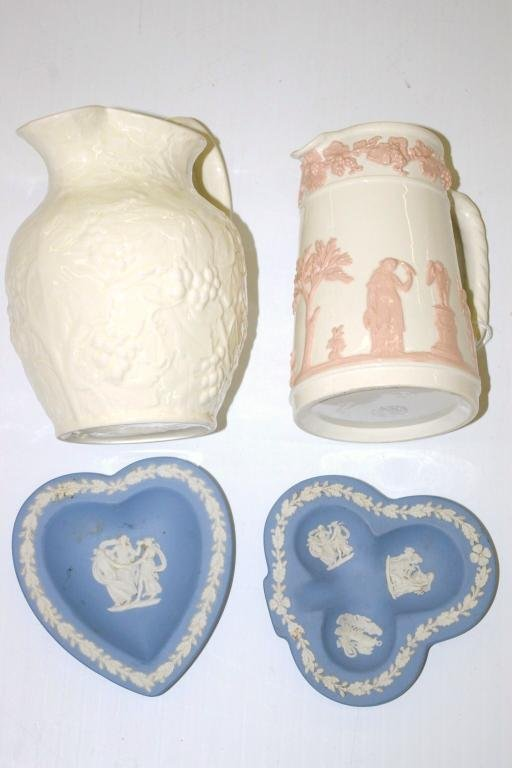 19: Four Wedgwood Pieces