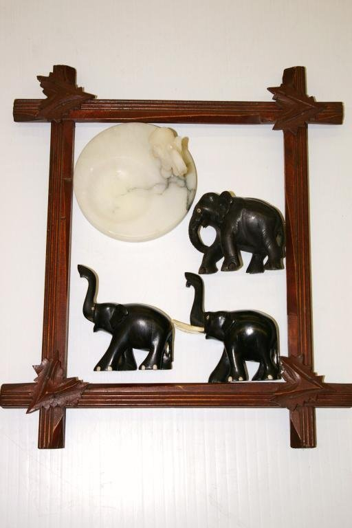 23: Picture Frame & Elephants