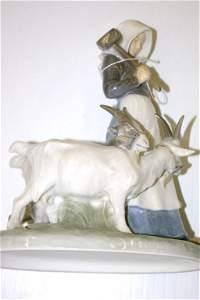 225: Royal Copenhagen Women with Goats