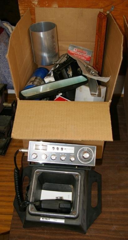 612: Cd Radio & Miscellaneous Parts