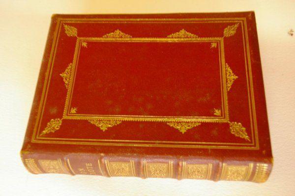 1034: Leather Bound: The Adventures of Don Quixote 1866