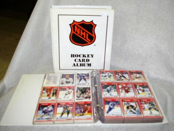 1: Collection of 500+ NHL Hockey Cards