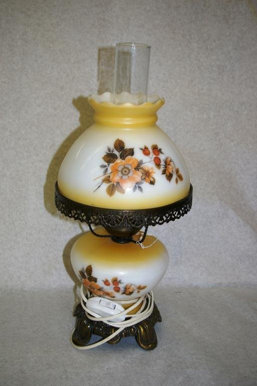 11: Hand Painted Lamp