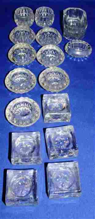 10 Miscellaneous Crystal Salt Cellars