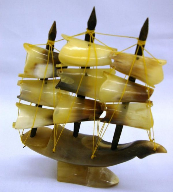 1014: Ship Made From Horn