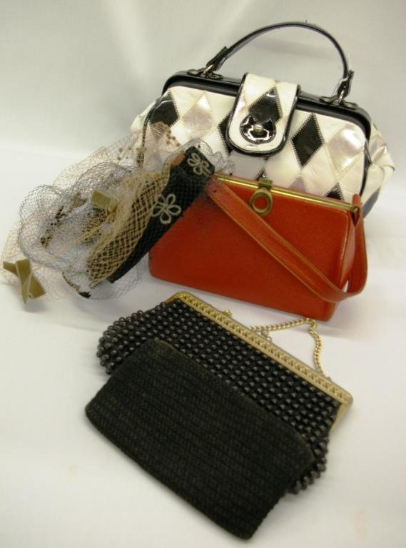 1021: Ladies' Handbags And Hair Nets