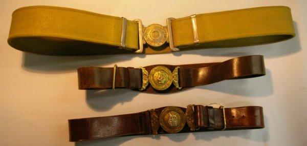 1179: Military Belts