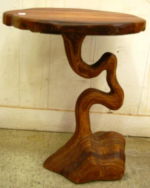 6: Hand-made Side Table