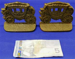 Stagecoach Cast Bookends