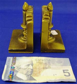 Craftsman Bookends