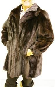 135: Mink Car-length Mink Coat
