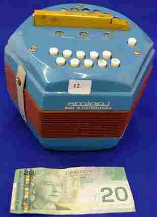 Amigo Squeezebox Made In Czechoslovakia