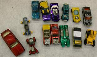 Toy Cars -1 Dinky And 11 Other Cars