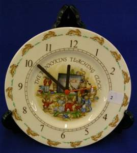 Bunnykins Teaching Clock