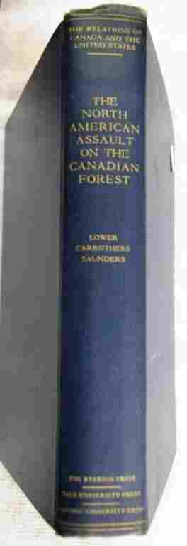 Book About Lumber Trade, 1938
