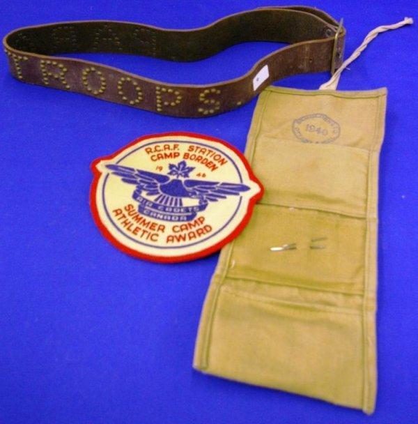 Paratrooper Belt & Misc