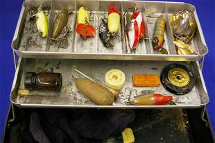 Tackle Box & Early Lures