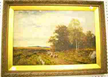Oil On Canvas Signed L. Richards