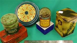 Five Early Tins