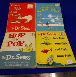 155: 4 Dr. Seuss Child's Books