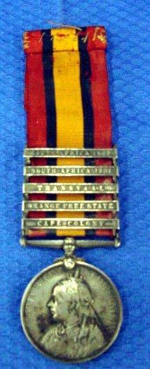 14: South African Boar War Service Medal
