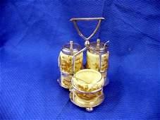 455: Victorian Condiment Set