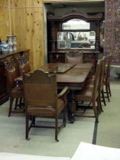 523: Oak Dining Room Suite