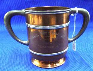 Copper & Pewter Loving Cup