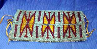 Indian Beaded Breast Plate