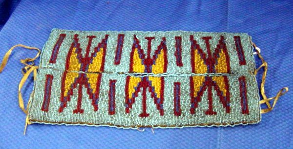 13: Indian Beaded Breast Plate
