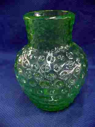 Hob Nail Vase