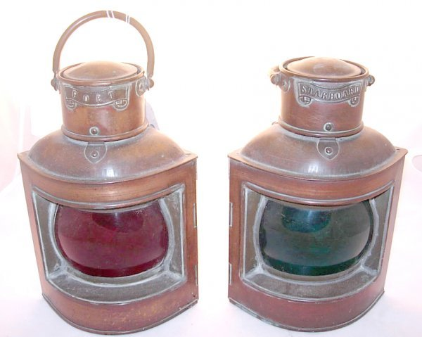5: Pair of Starboard (Green glass) and Port (Red glass)