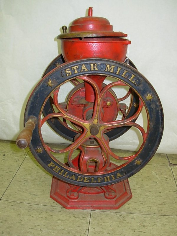 1001: Coffee Mill by Henry Broemner, Star Mill Philadel