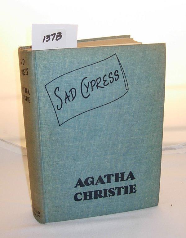 """1137B: First Edition Agatha Christie """"Sad Cypress"""" *not"""