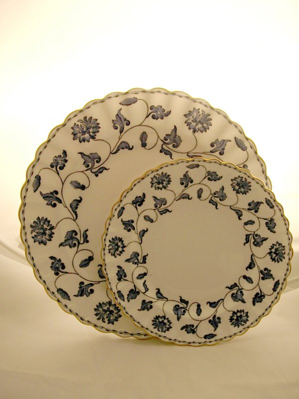 2003: Pair of Spode plates