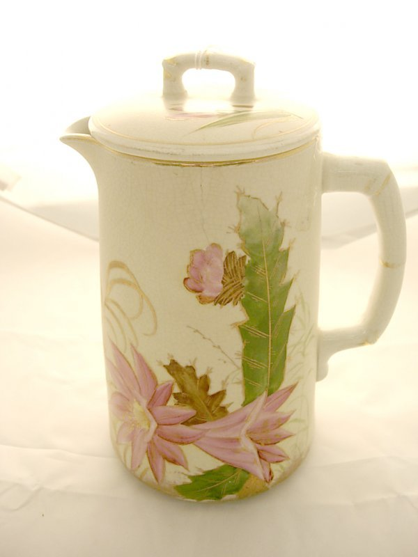 2008: Unmarked handpainted Coffee pot