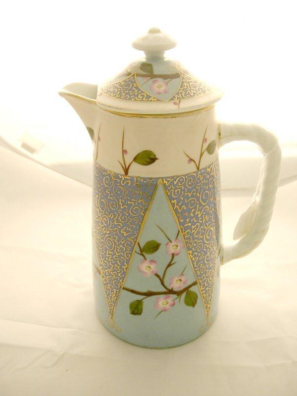 2009: Mark & Gutherz Carlsbad Coffee Pot with Apple Blo