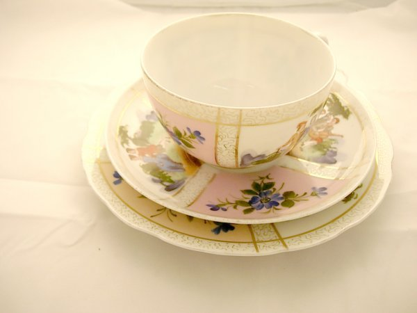 2017: Carlsbad Cup and Saucer with Sandwich plate *note