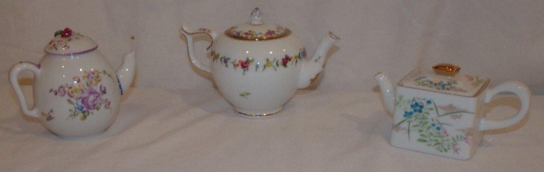 Collectible Porcelain Teapots