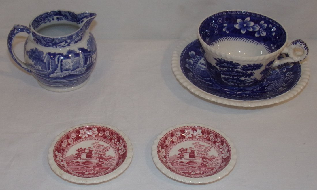 English China Pieces by Copeland