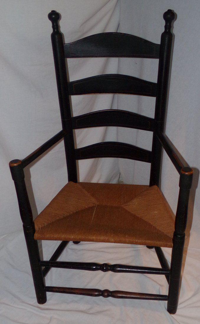 Antique Ladder Back Chair