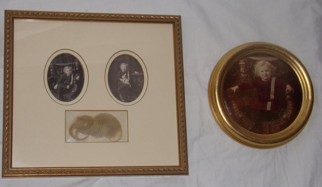 2 Framed Vintage Photographs