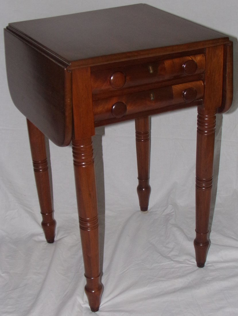 Late Sheraton Sewing Table