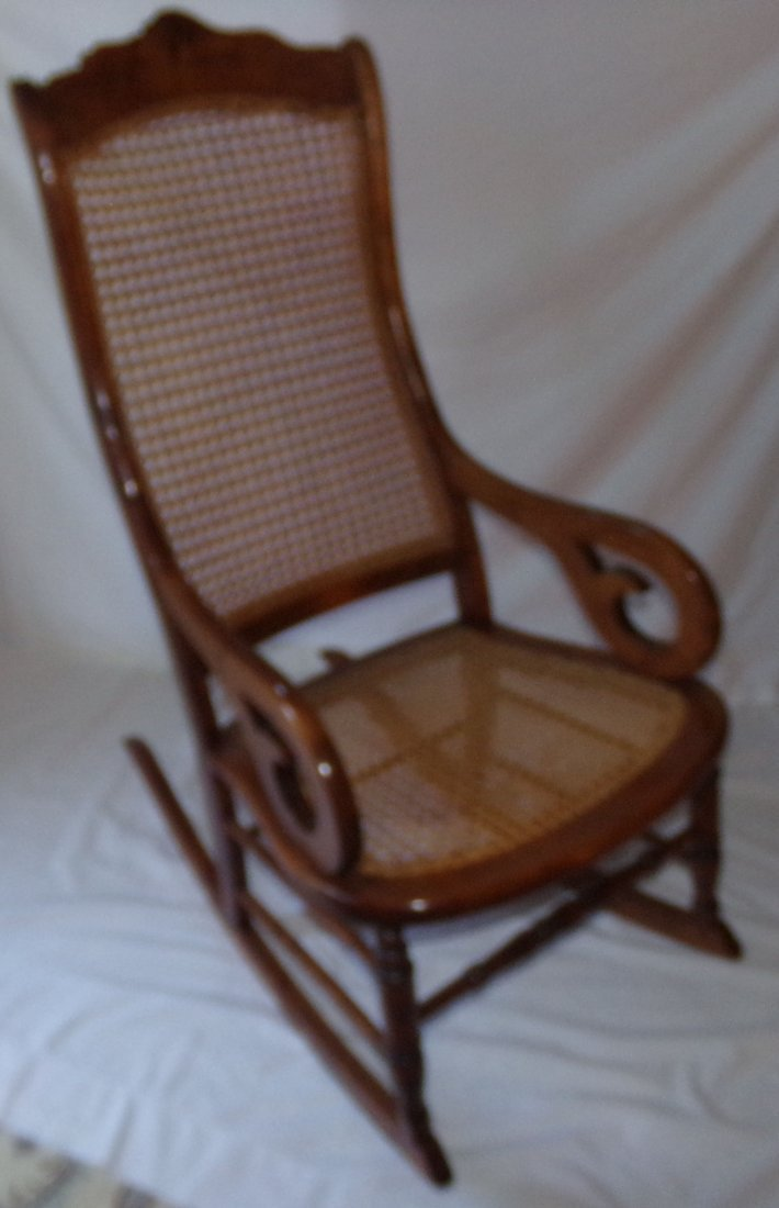Antique Country Victorian Rocking Chair