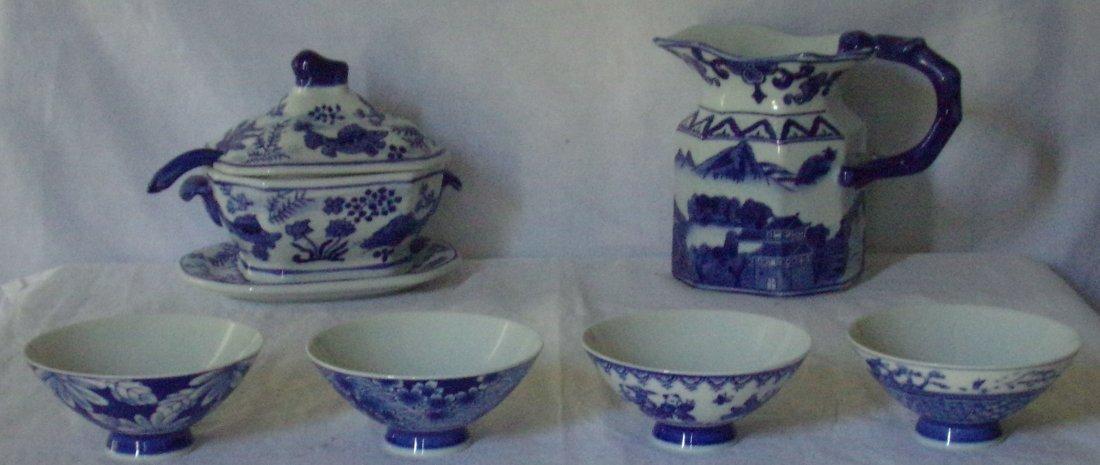 Modern Asian B&W Ceramics