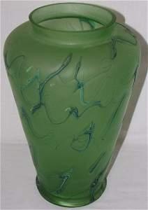 Antique Iridescent Vase